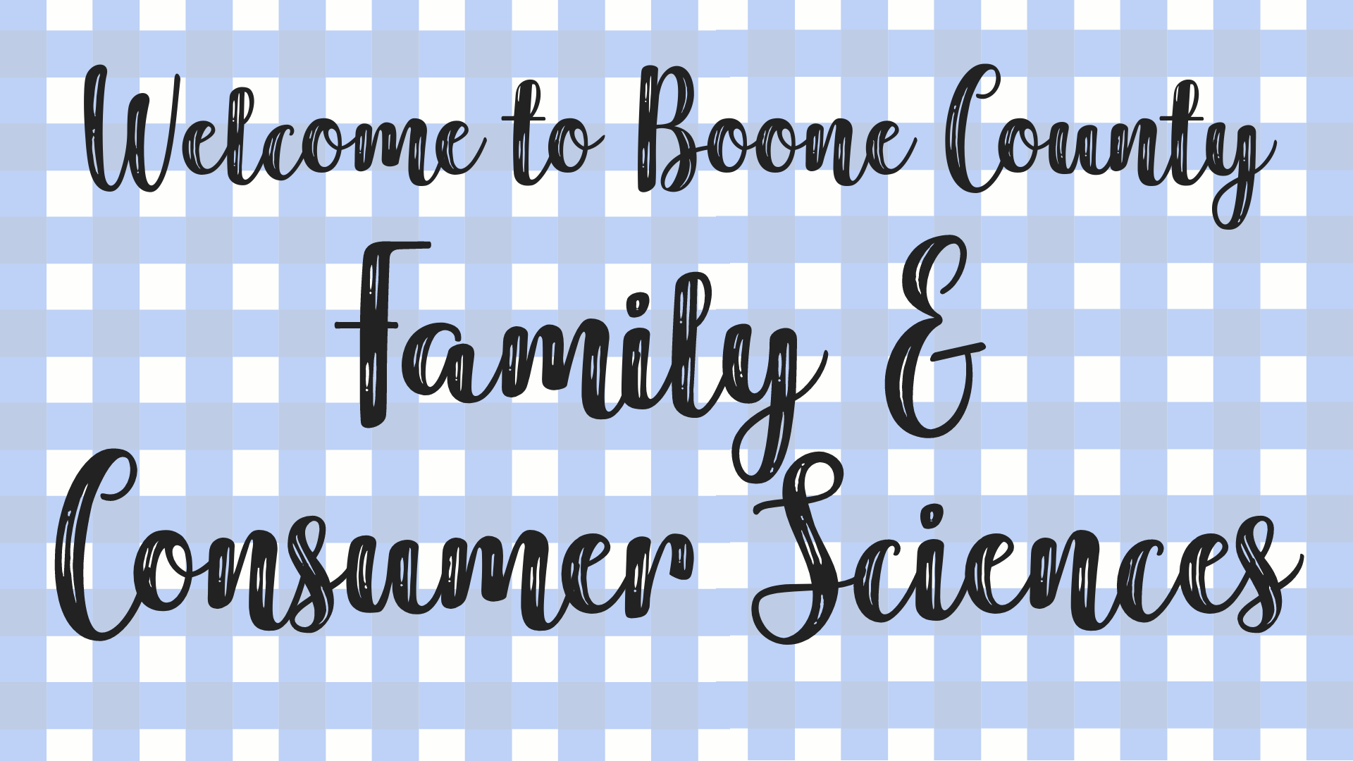 Family & Consumer Sciences header